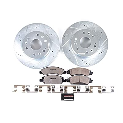 Power Stop K2069-36 Z36 Truck & Tow Front Brake Kit: Automotive