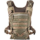 Men's Baby Carrier - Front Baby Carrier - Baby Carrier for Dads - By Mission Critical - Coyote