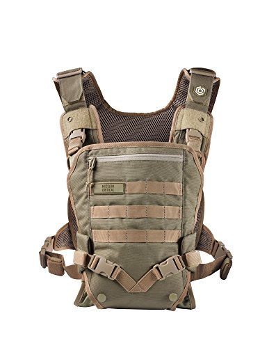 Men's Baby Carrier - Front -for Dads - by Mission Critical - Coyote