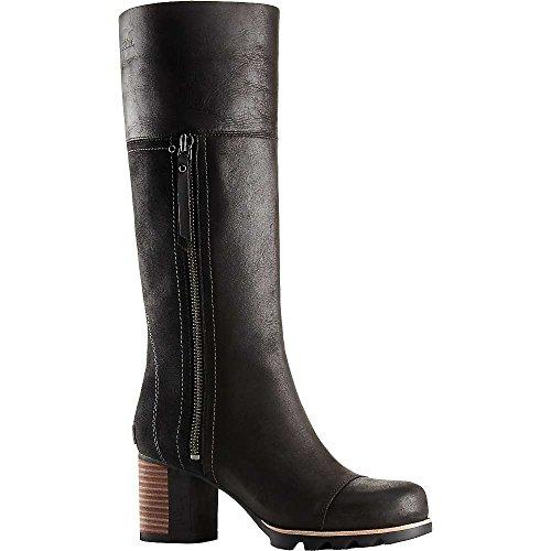 Sorel Addington Tall Boot - Womens Black / Kettle 7.5