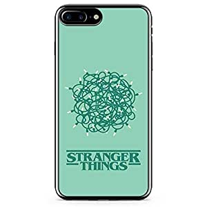 Loud Universe Stranger Things Light iPhone 8 Plus Case Scramble Stranger Things iPhone 8 Plus Cover with Transparent Edges