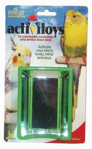 JW Pet Company Activitoys Hall of Mirrors Bird Toy, My Pet Supplies