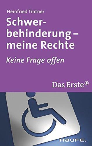Schwerbehinderung: Keine Frage offen (ARD Buffet)