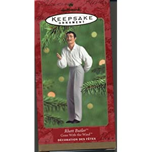 2000 Hallmark Ornament Gone With The Wind Rhett Butler