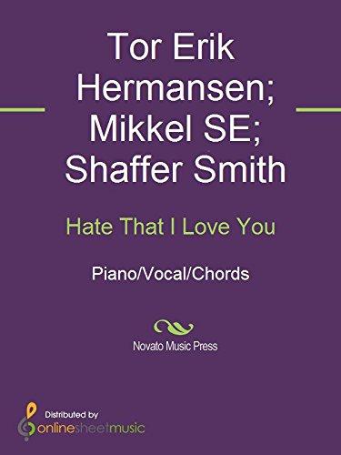 Hate That I Love You Kindle Edition By Mikkel Se Ne Yo Rihanna