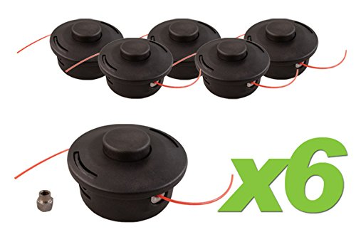 (6) Pack Stihl 25-2 Replacement Bump Feed Trimmer Head fi...
