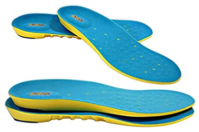 PARENT Children's Athletic Memory Foam Insoles For Arch Support and Comfort for Active Children