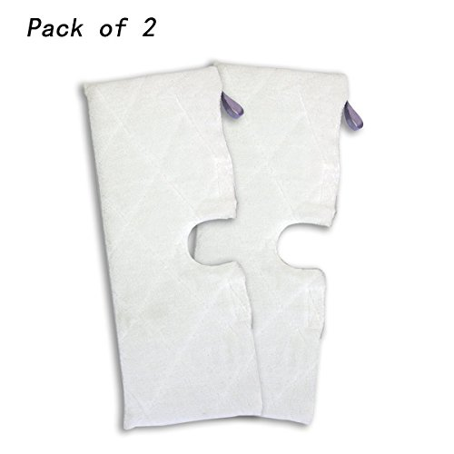Agile-Shop 2pcs Replacement XL Microfiber Cleaning Pads for Shark Pocket Steam Mop XLT3501