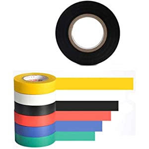 10Pcs 5mm Wide 50 Meter Long PET Self Adhesive Electrical Insulation Tape Yellow
