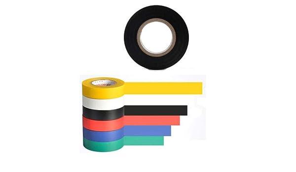 General Purpose Vinyl Electrical Tape  Each Roll 0.71 × 50 ft Black