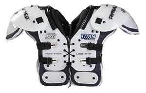Rawlings Titan Junior Shoulder Pad (XX-Small, White)