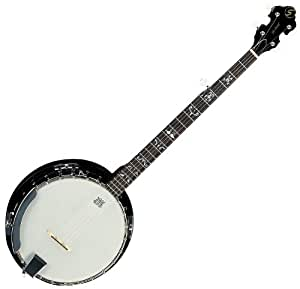 NEW SAMICK GREG BENNETT BANJO SERIES SB2 24 BRACKET BLUEGRASS 5 STRING BANJO