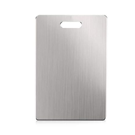 Compra J5pecwanli 304 Tabla de Cortar de Acero Inoxidable de ...