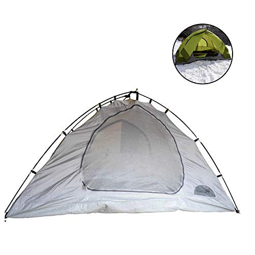 AceCamp Adventurer 2-Person Tent, Backpacking Tent for Two People, Portable Camping Tent, Duel Vestibules, Brow Pole for Straighter Sides More Head Room, 2 Man Tent