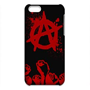 anarchy For Phone Case for Iphone 5C 3D
