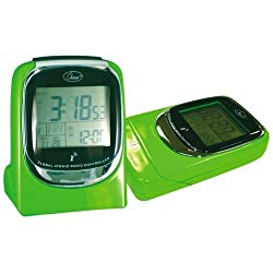 Chass ''Global Sync'' Atomic Clock in Shiny Green