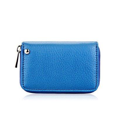 Fundas con cremallera, color azul, para mujer, de plástico ...