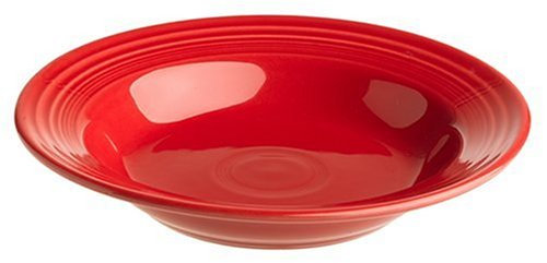 Rimmed Ceramic - Fiesta Scarlet 451 9-Inch Rimmed Soup Bowl