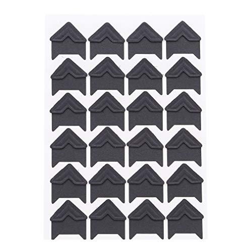 SOURBAN 24pcs Kraft Paper Photo Corner,Black by SOURBAN (Image #4)
