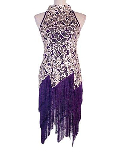 Vijiv Womens Vintage Clubwear Sequin