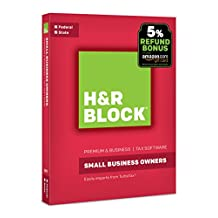 Bloque de bloque Financiero H & R Software de impuestos Premium & Business 2017