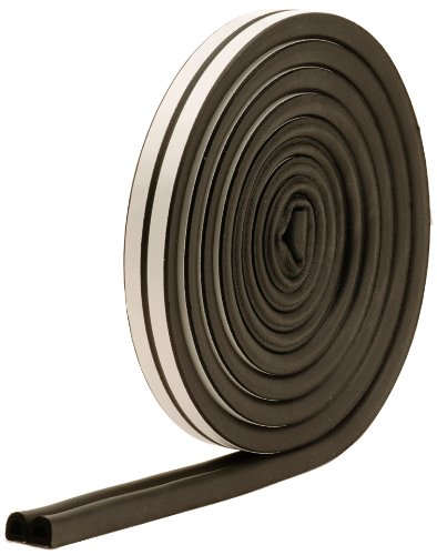 M-D Building Products 1025 All-Climate Auto and Marine 17-Feet Weather Seal Strip, Black