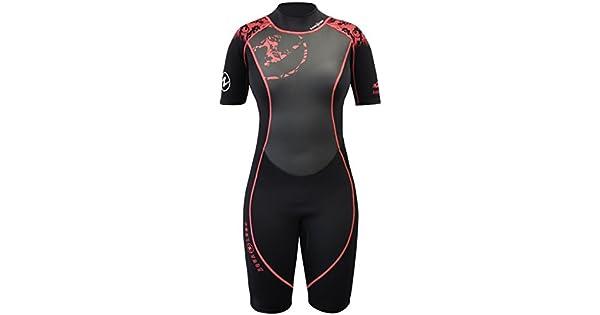 Amazon.com: Aqua Lung Hydroflex Shorty traje de la mujer ...