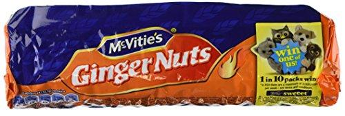 Mcvities Ginger Nuts 250 Gram - Pack of 6