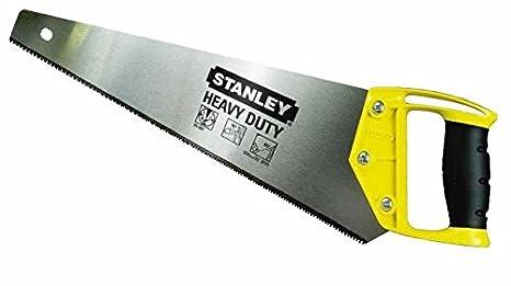 50,8 cm Sega a mano con denti affilati su 3 lati 500 mm Stanley 1-20-094