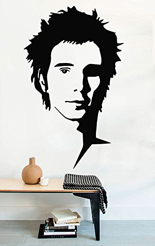 Rock Wall Decals Sid Vicious Sex Pistols Decor Stickers Vinyl MK1090 by USA Decals4You