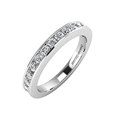 14K Gold Wedding/anniversary Diamond Band Ring (1/2 Carat) - IGI Certified