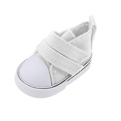 MonkeyJack 1/6 BJD Accessories Sticky Bind Canvas Shoes Fit Blythe Dollfie LUTS -