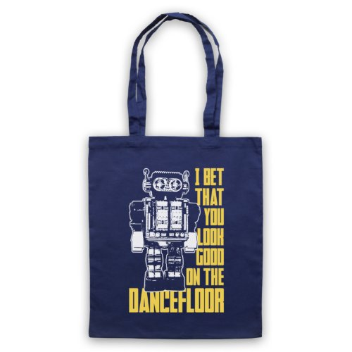 Blue I Bet Good On Arctic Monkeys Tote The Dance You Navy Look That Floor Bag EU56w