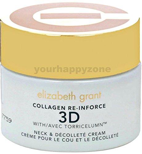 ELIZABETH GRANT Collagen Re-Inforce 3D Neck and Decollete Cream 100ml./3.4 oz. (Unboxed)