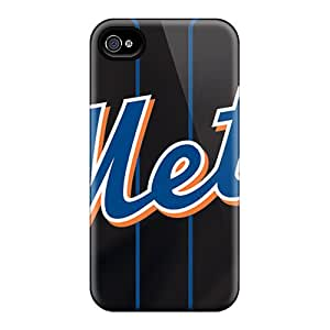 Great Cell-phone Hard Covers For Iphone 4/4s (hvU19609Chdl) Support Personal Customs Colorful New York Mets Pictures