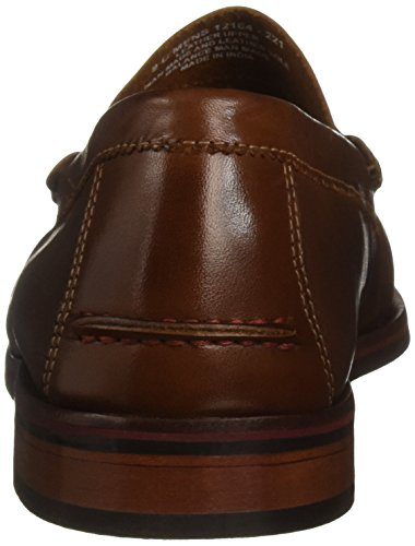 Florsheim Dress Shoe Penny Loafer Up Casual Heads on Slip Cognac Men's zqfr0Sz