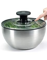OXO SteeL Salad Spinner, Silver (1071497)
