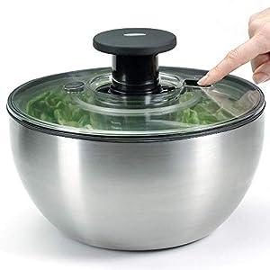 Oxo 1071497 Essoreuse à Salade Inox
