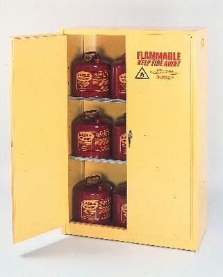 1962BEI - Floor Cabinet with Two Doors, Beige - Flammable Liquids Safety Storage Cabinets, Eagle Manufacturing - Each