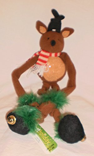 Petholiday Reindeer Doorknob Cat Dangler
