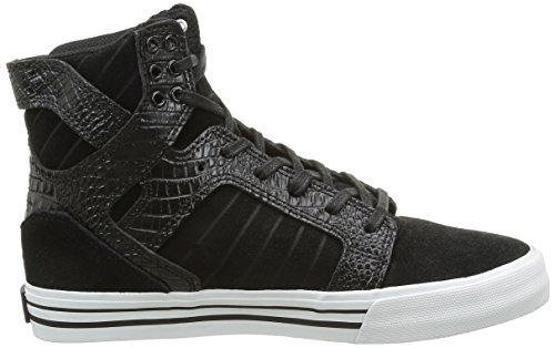 Skytop Regular Croc Black White Black 10 White Shoe Supra US Sxnq1n
