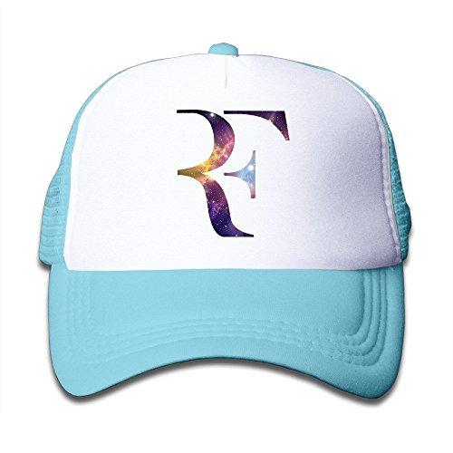 YONLY Roger Federer Logo Youth Children Girl Boy Kids Baseball Cap SkyBlue