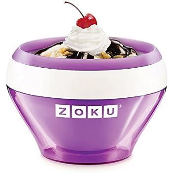 zoku ice cream maker instructions