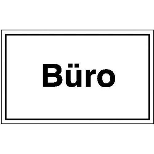 Büro Hinweisschild zur Betriebskennzeichnung, Kunststoff, 25x15 cm