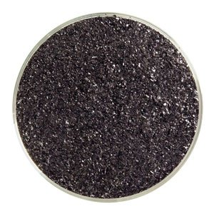 Black Opal Fine Frit, 5 Oz - 90 Coe Bullseye Glass Co.