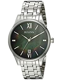 Bulova 96P162 16mm Stainless Steel Silver Watch Bracelet