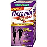 Flex-A-Min Joint Flex Formula with Vitamin D 2000IU and MSM, Triple Strength, Tablets 120 ea