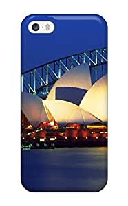 GMrEzUz2665pyLNp Anti-scratch Case Cover Earl N Vines Protective Sydney Opera House, Australia Case For Iphone 5/5s