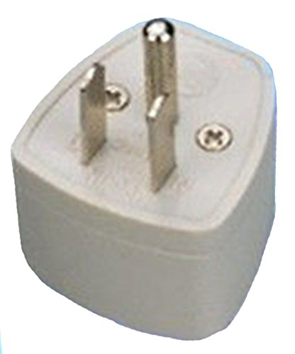 BEcom EU UK AU Universal Adapter to USA Canada 3 Pin Travel Adaptor Plug Converter