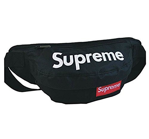 Supreme CAMO Fanny Pack/Waist Bag (Black) from The Mass